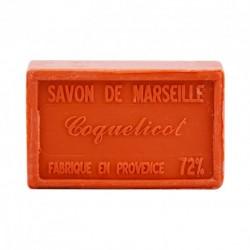 Savon de Marseille parfum Coquelicot 100g